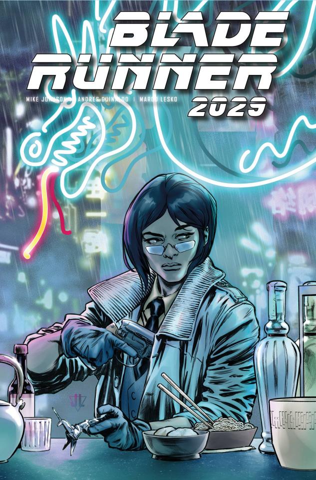 Blade Runner 2029 #6 (Lopez Cover)