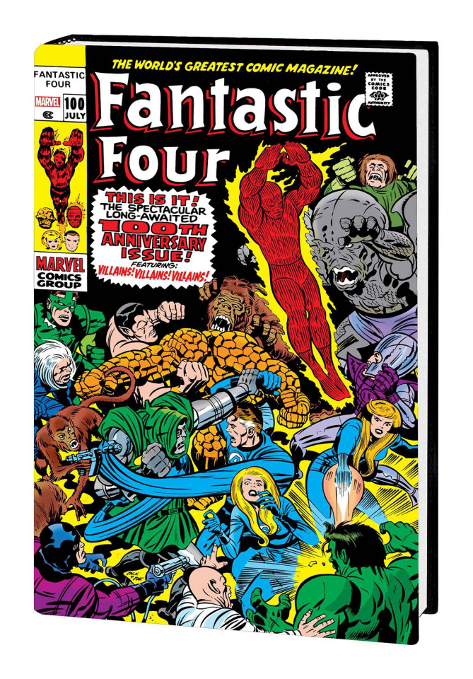 Fantastic Four Vol. 4 (Kirby Omnibus Cover)