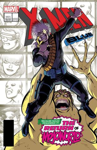 X-Men: Blue #13 (Lopez Cover)