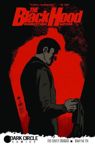 The Black Hood #10 (Francavilla Cover)