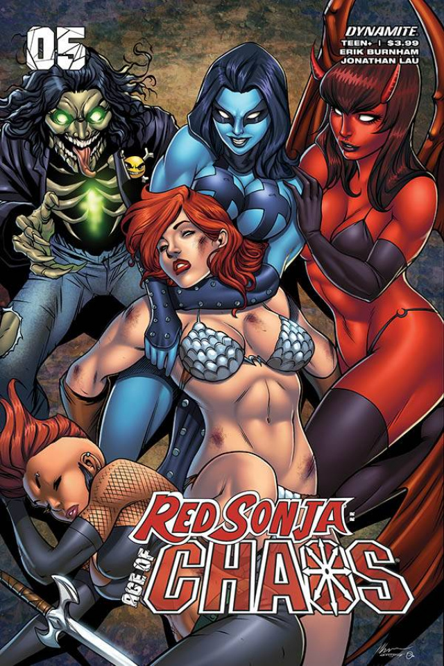 Red Sonja: Age of Chaos #5 (Garza Cover)