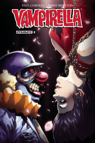 Vampirella #3 (Tan Cover)
