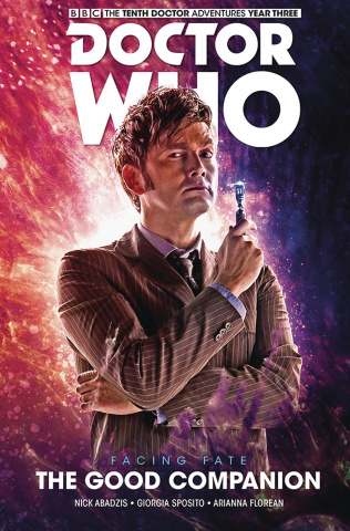 Doctor Who: New Adventures with the Tenth Doctor, Year Three Vol. 3: Facing Fate