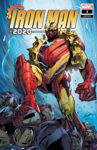 Iron Man 2020 #3 (Lozano Cover)