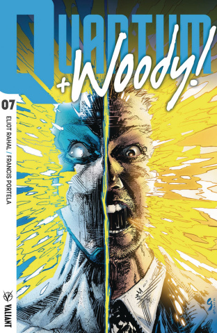 Quantum & Woody #7 (Shaw Cover)