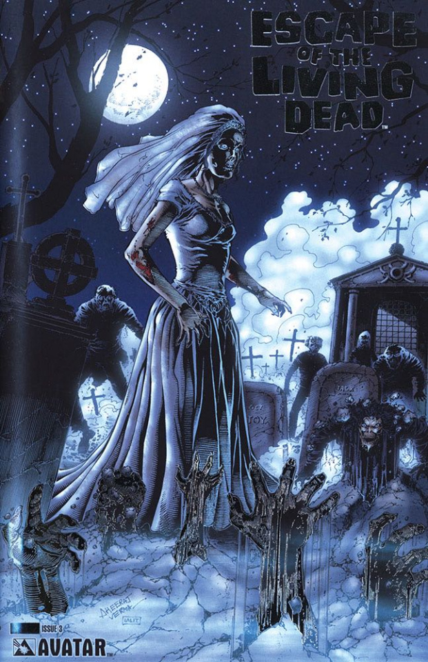 Escape of the Living Dead #3 (Platinum Foil Cover)