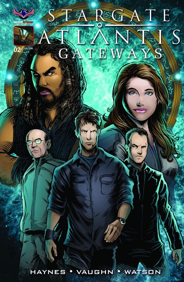 Stargate Atlantis: Gateways #2 (Subscription Cover)
