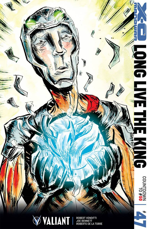 X-O Manowar #47 (50 Copy Lemire Cover)