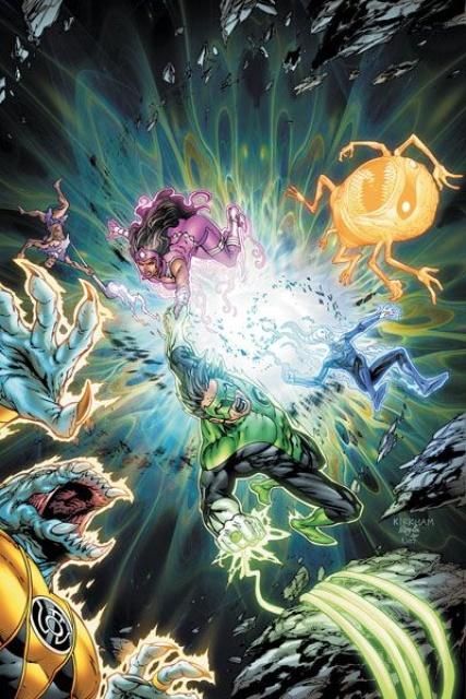 Green Lantern: New Guardians #5