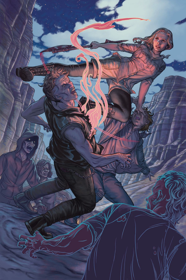 Buffy the Vampire Slayer, Season 11 #4 (Morris Cover)