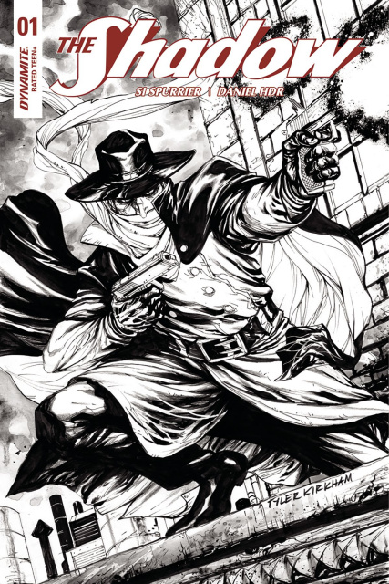 The Shadow #1 (40 Copy Kirkham B&W Cover)