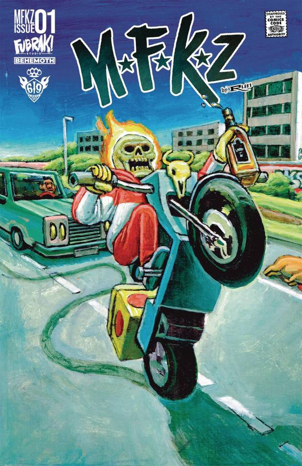 MFKZ #1 (Vinz Diesel Cover)