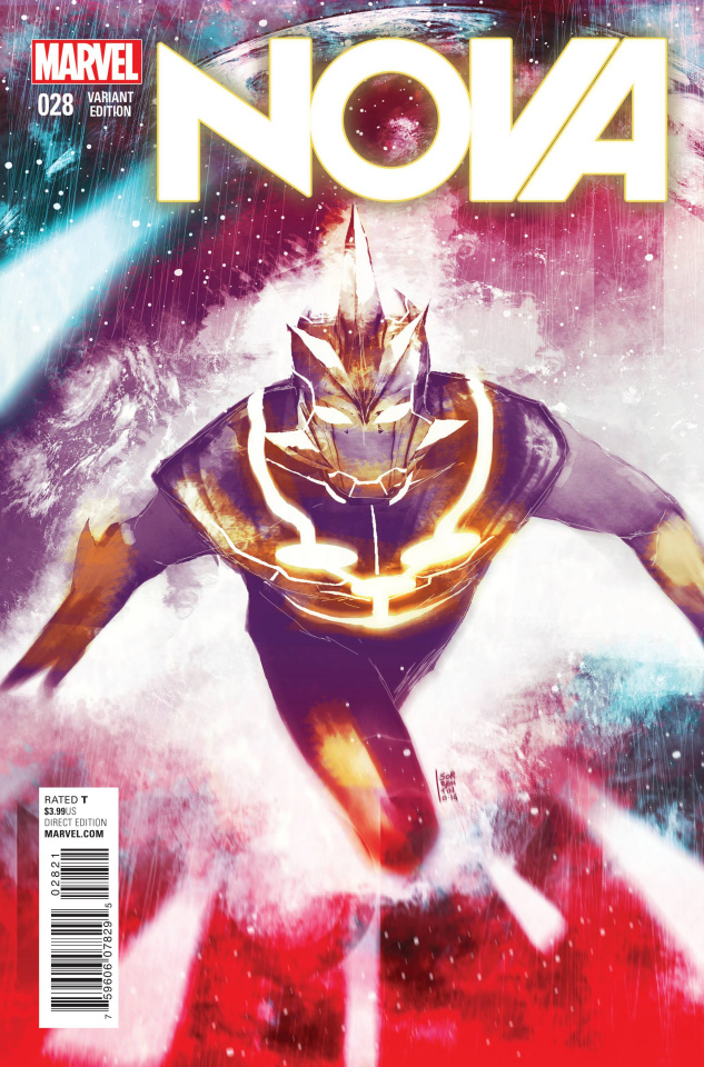 Nova #28 (Sorrentino Cosmically Enhanced Cover)