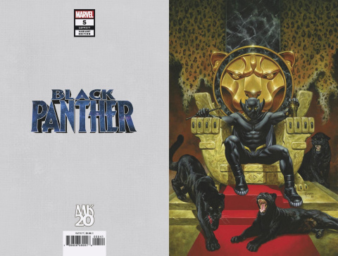 Black Panther #5 (Jusko MKXX Virgin Cover)