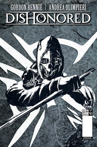 Dishonored #1 (Bae Cover)