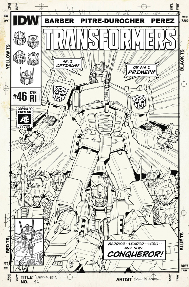 The Transformers #46 (10 Copy Cover)