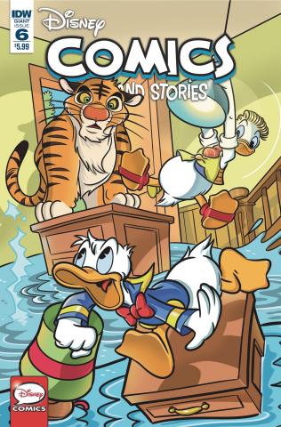 Disney Comics And Stories #6 (Mazzarello Cover)