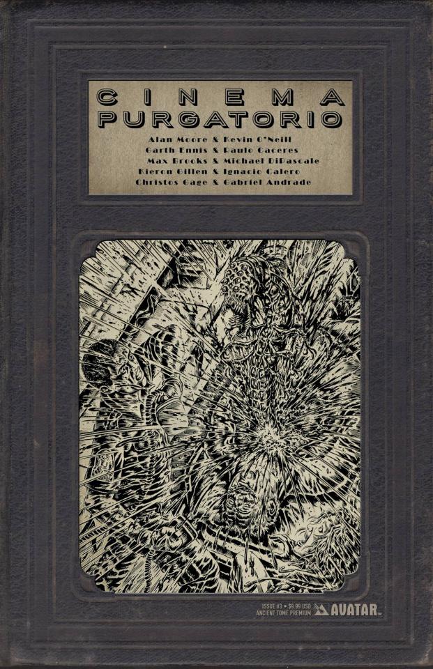 Cinema Purgatorio #3 (Ancient Tome Premium Cover)