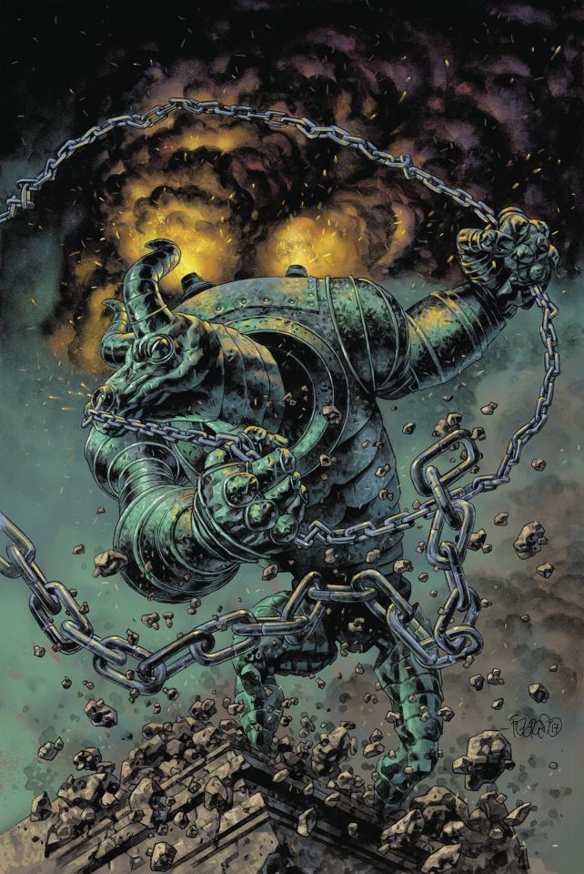 Sherlock Frankenstein and the Legion of Evil #3 (Fegredo Cover)