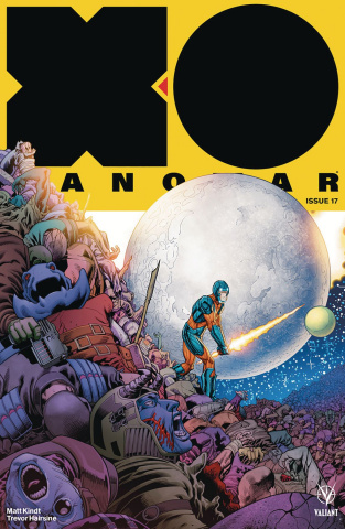 X-O Manowar #17 (50 Copy Kitson Cover)
