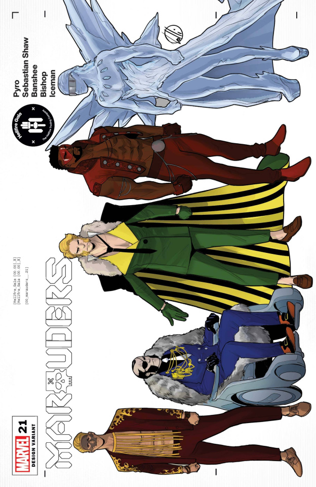 Marauders #21 (Lolli Character Design Cover)