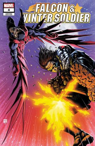 Falcon & Winter Soldier #4 (Okazaki Cover)