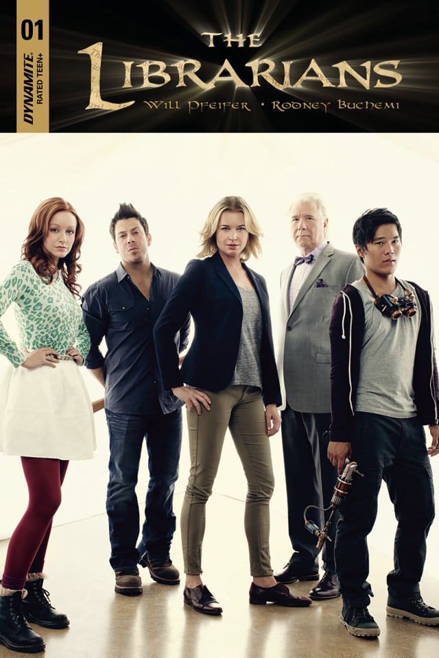 The Librarians #1 (10 Copy Group Photo Cover)
