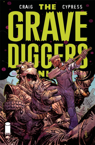 The Gravediggers Union #9 (Klein Cover)