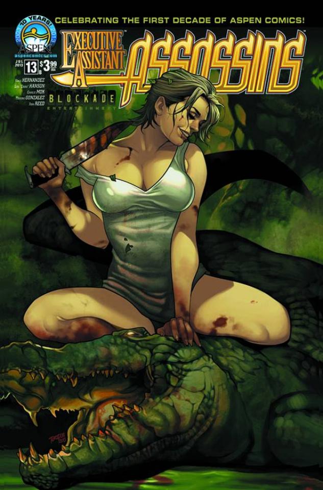 Executive Assistant: Assassins #13 (Torque Cover)