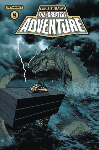 The Greatest Adventure #8 (Smallwood Cover)