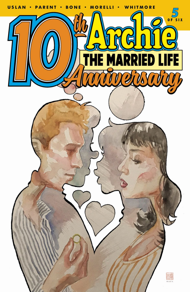 Archie: The Married Life - 10 Years Later #5 (Mack Cover)
