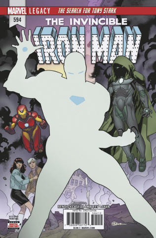 Invincible Iron Man #594 (2nd Printing)