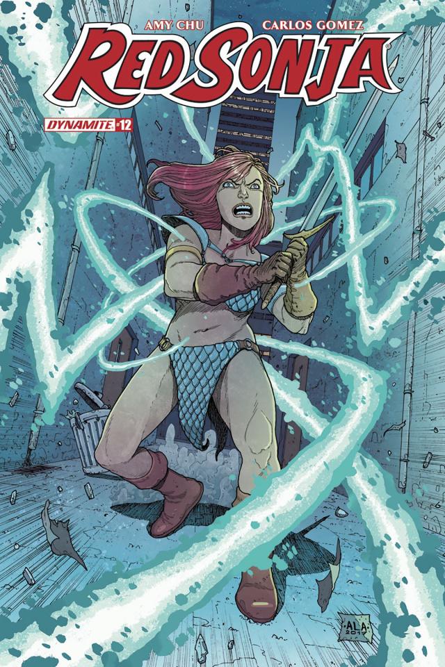 Red Sonja #12 (Araujo Subscription Cover)