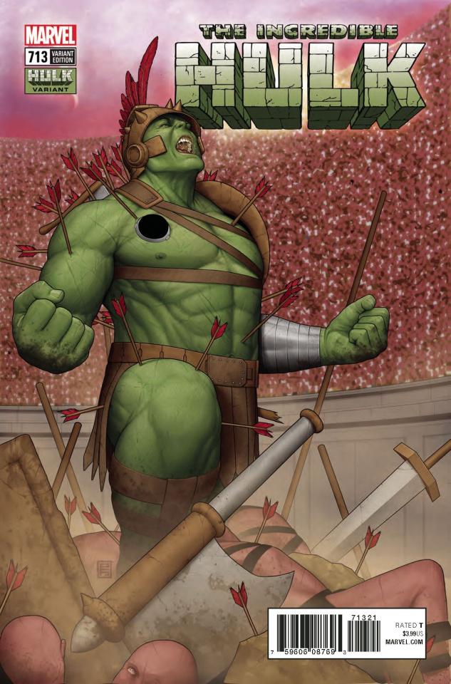 The Incredible Hulk #713 (Deodato Hulk Cover)