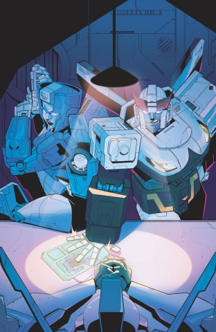 The Transformers #9 (Tramontano Cover)