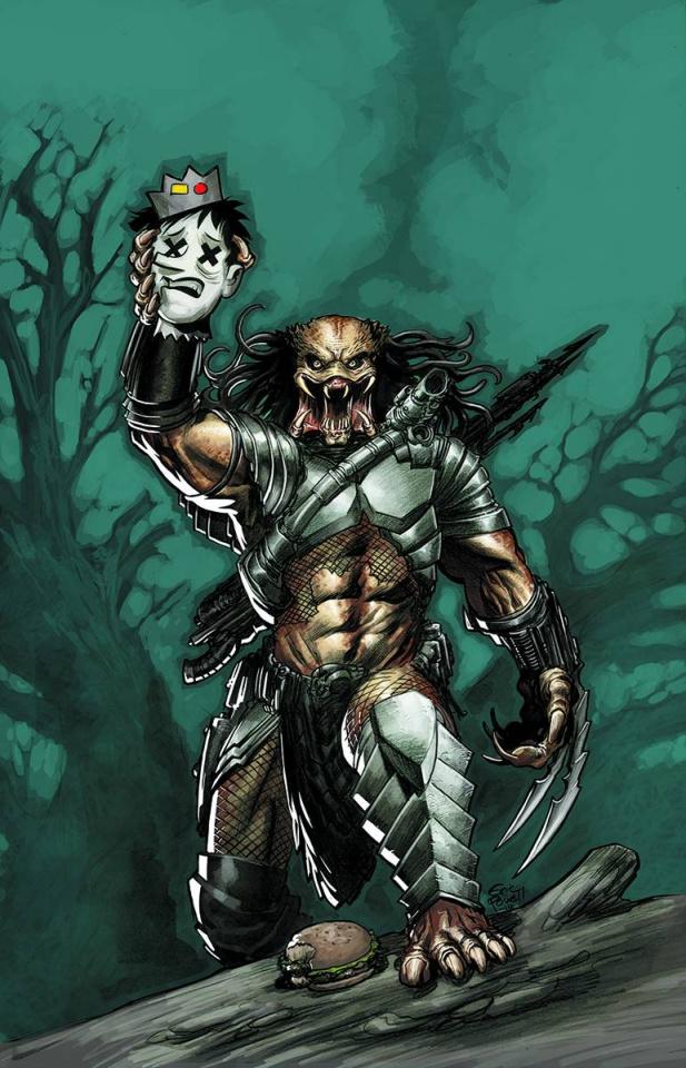 Archie vs. Predator #1 (Powell Cover)