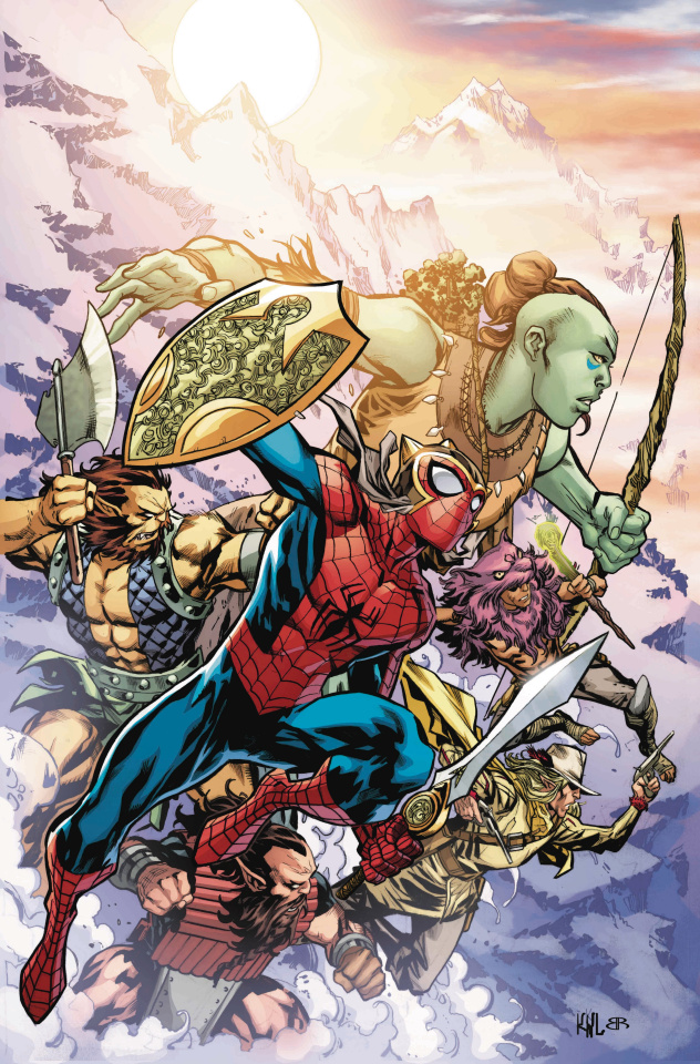 The War of the Realms: Spider-Man & The League of Realms #1