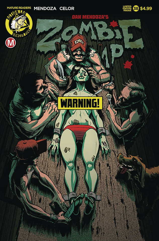 Zombie Tramp #38 (Risque Dinner Time Cover)