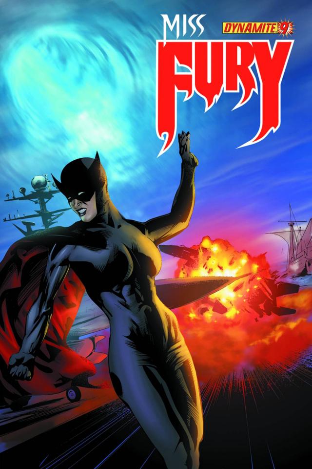 Miss Fury #9 (Calero Cover)