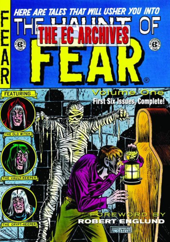 The EC Archives: The Haunt of Fear Vol. 1