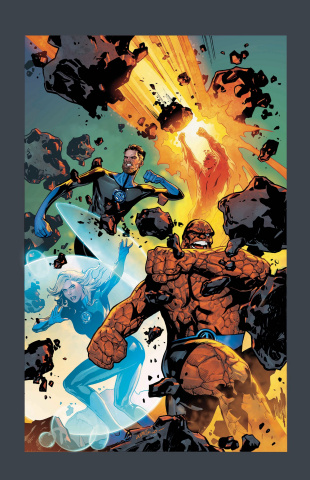 Fantastic Four #1 (Lupacchino Cover)