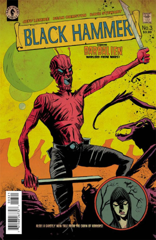 Black Hammer #3 (Lemire Cover)
