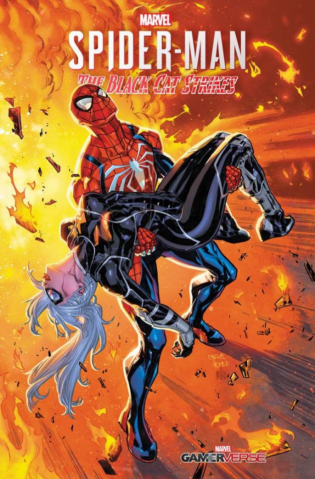 Spider-Man: The Black Cat Strikes #4 (Gomez Cover)