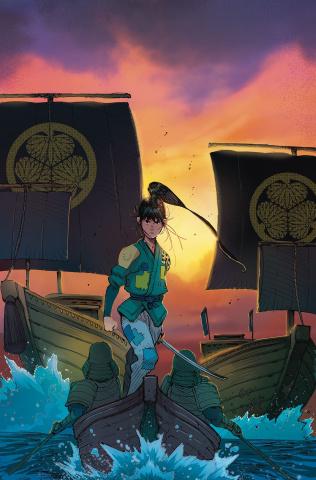 Ronin Island #9 (Milonogiannis Cover)