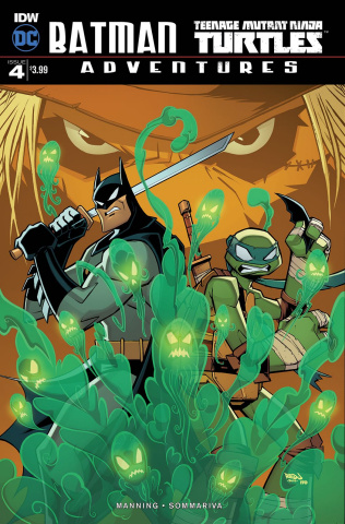Batman / Teenage Mutant Ninja Turtles Adventures #4