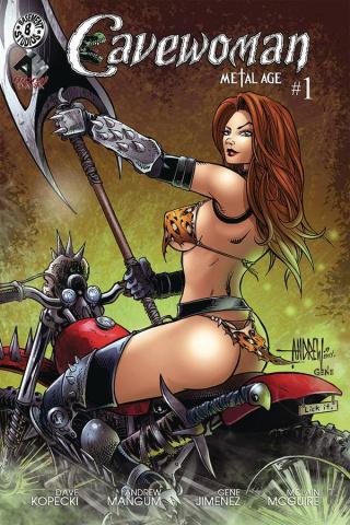 Cavewoman: Metal Age #1 (Mangum Cover)