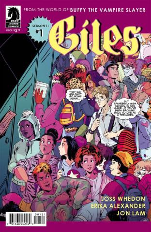 Buffy the Vampire Slayer, Season 11: Giles #1 (Variant Cover)