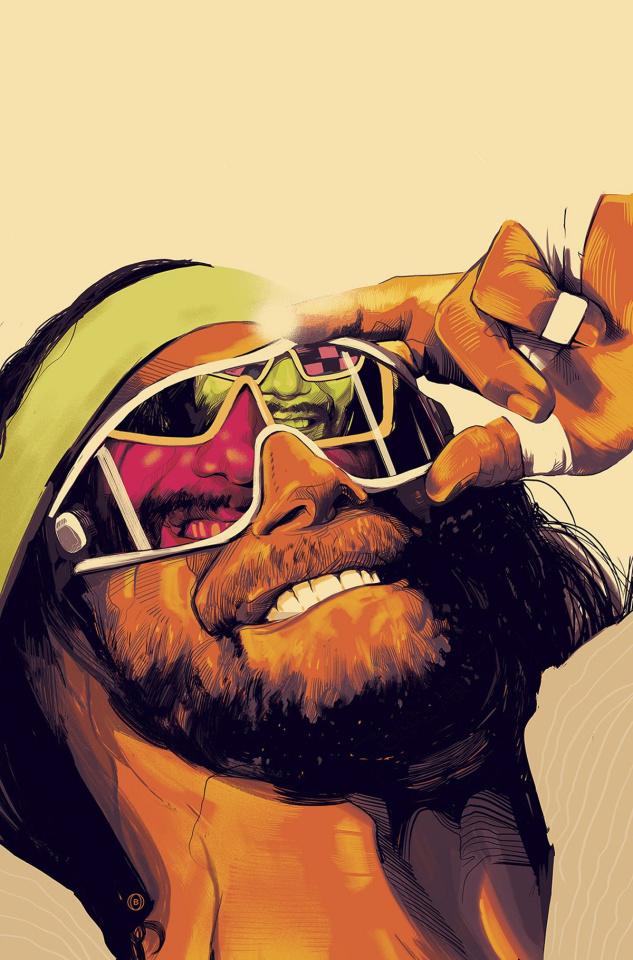 WWE #1 (100 Copy Barrett Cover)