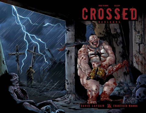 Crossed: Badlands #70 (Wrap Cover)
