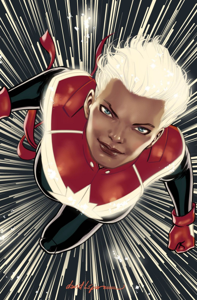 The Mighty Captain Marvel #3 (Lopez Cover)